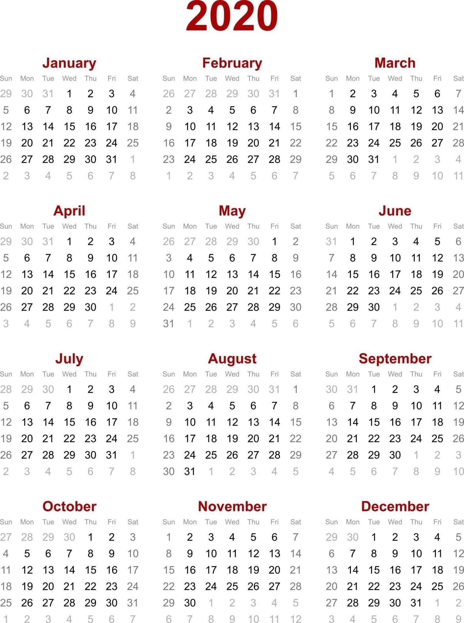 Extraordinary Printable Calendar With Jewish Holidays 2020