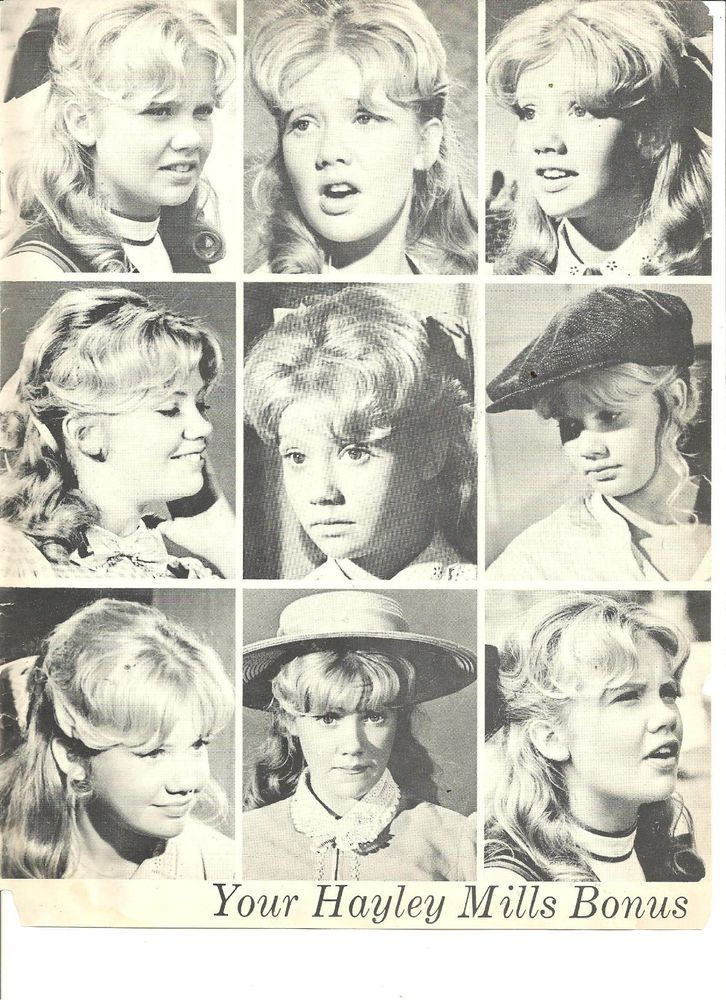 Hayley Mills, Great  Vintage Pinup