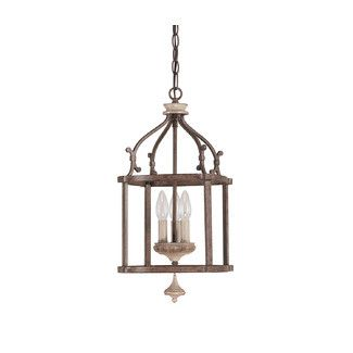 Found it at Wayfair - Capital Lighting Chateau 3 Light Foyer Pendant