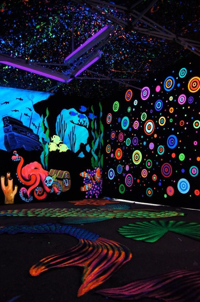 Black Light Bedroom Ideas 3 Cool Design Inspiration