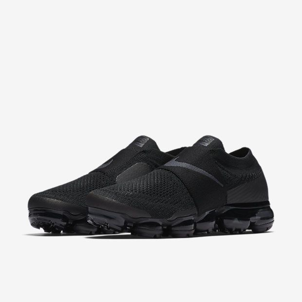 best service b28ee 8ca1a Nike Air Vapormax Flyknit Moc Black Size 7-9.5 LIMITED 100% Authentic women  Nike RUNNING