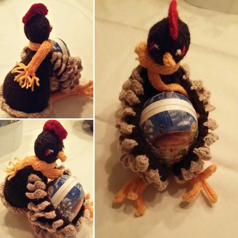 Strikket høne
