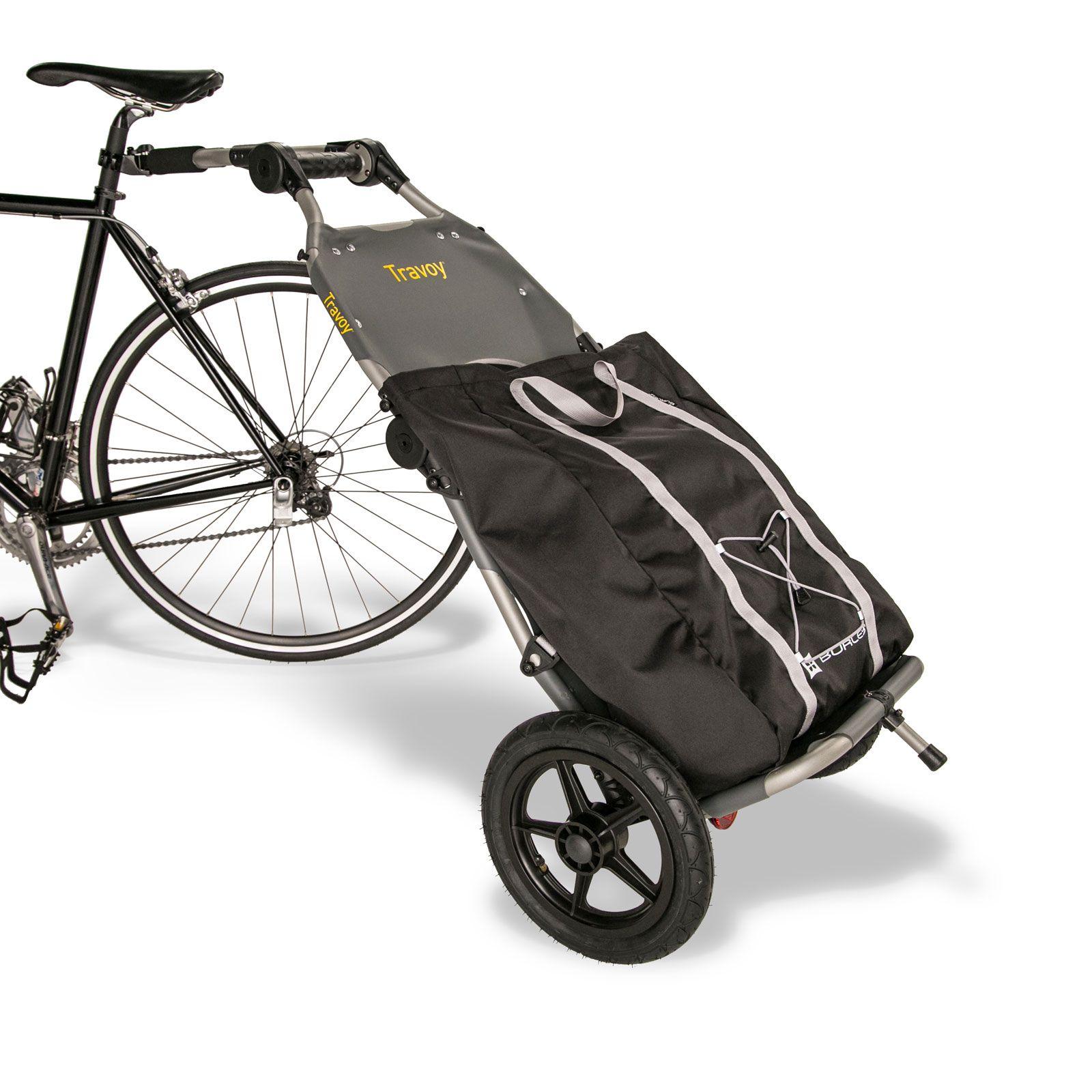 burley travoy inkl qeedo shopping bag bike pinterest fahrrad fahrradanh nger und trolley. Black Bedroom Furniture Sets. Home Design Ideas