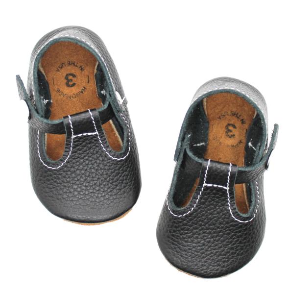 The original soft-soled t-strap: black | Kids shoes sale ...