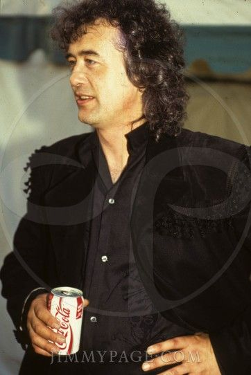 Jimmy Page 1990 Castle Donington