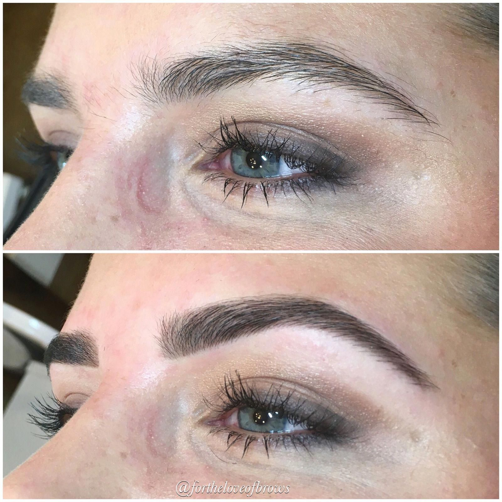 Brow Shaping Performed By Marisa Rios In Chandler Arizona With