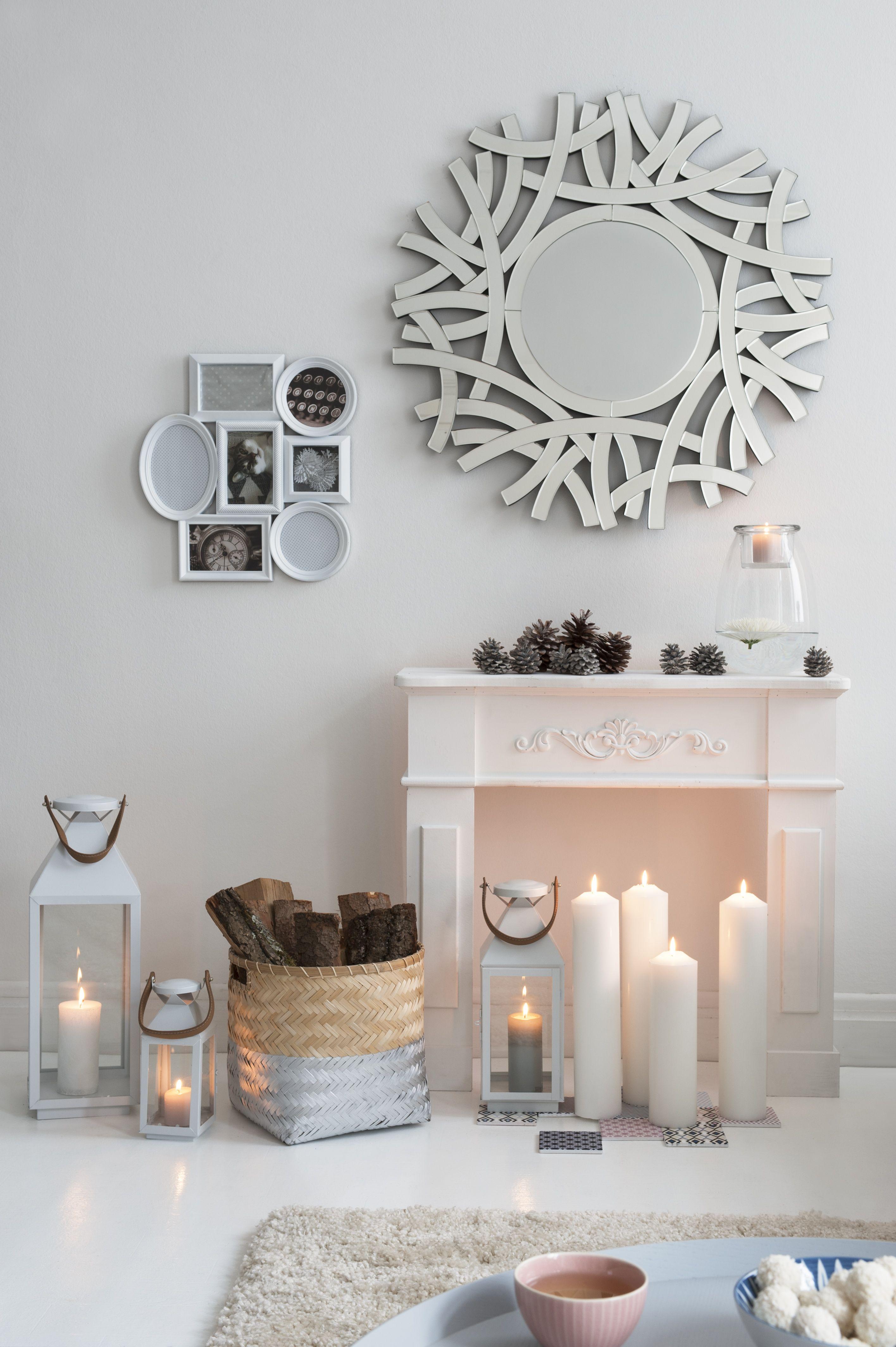 good einfache dekoration und mobel waerme und licht mit echtem feuer #1: Kaminzauber