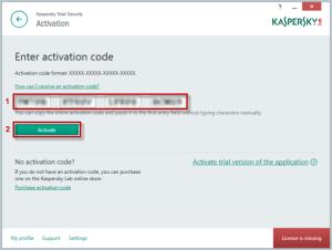 kaspersky activation code 2018 crack