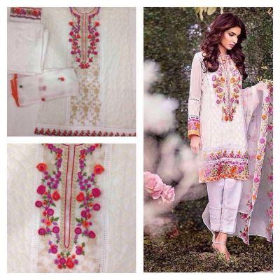 e01375a76e0d99 Monika Silk Mill Presents Beatiful Designer Embroidered Salwar Suit ...