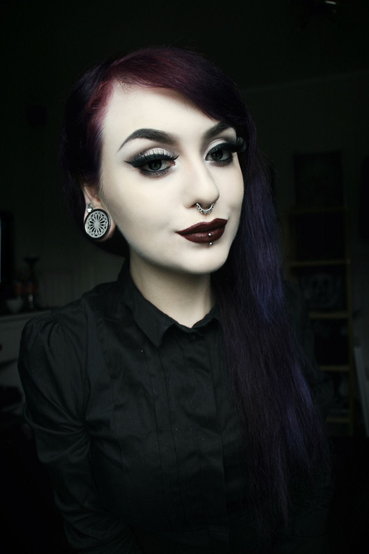 1000 ideas about pastel goth makeup on pinterest nu goth makeup - Gothic Makeup