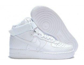 Nike Store. Nike Air Force 1 High Mens Womens Shoes - White - Wholesale f4304e870a