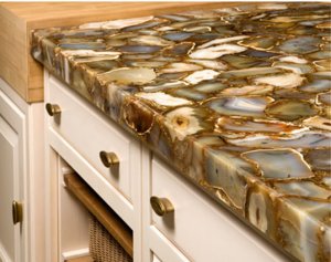 Gems For Your Home Brown Agate Kitchen Countertop Icon Stone