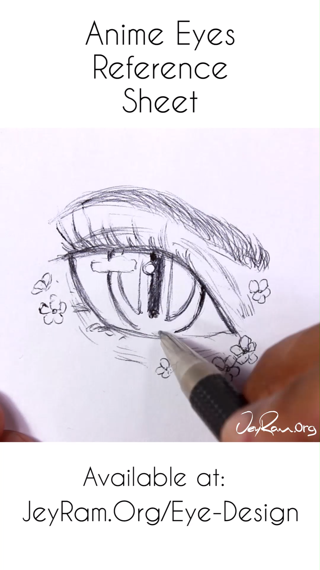 Photo of Anime Eye Drawing Reference : Female Manga Anatomy