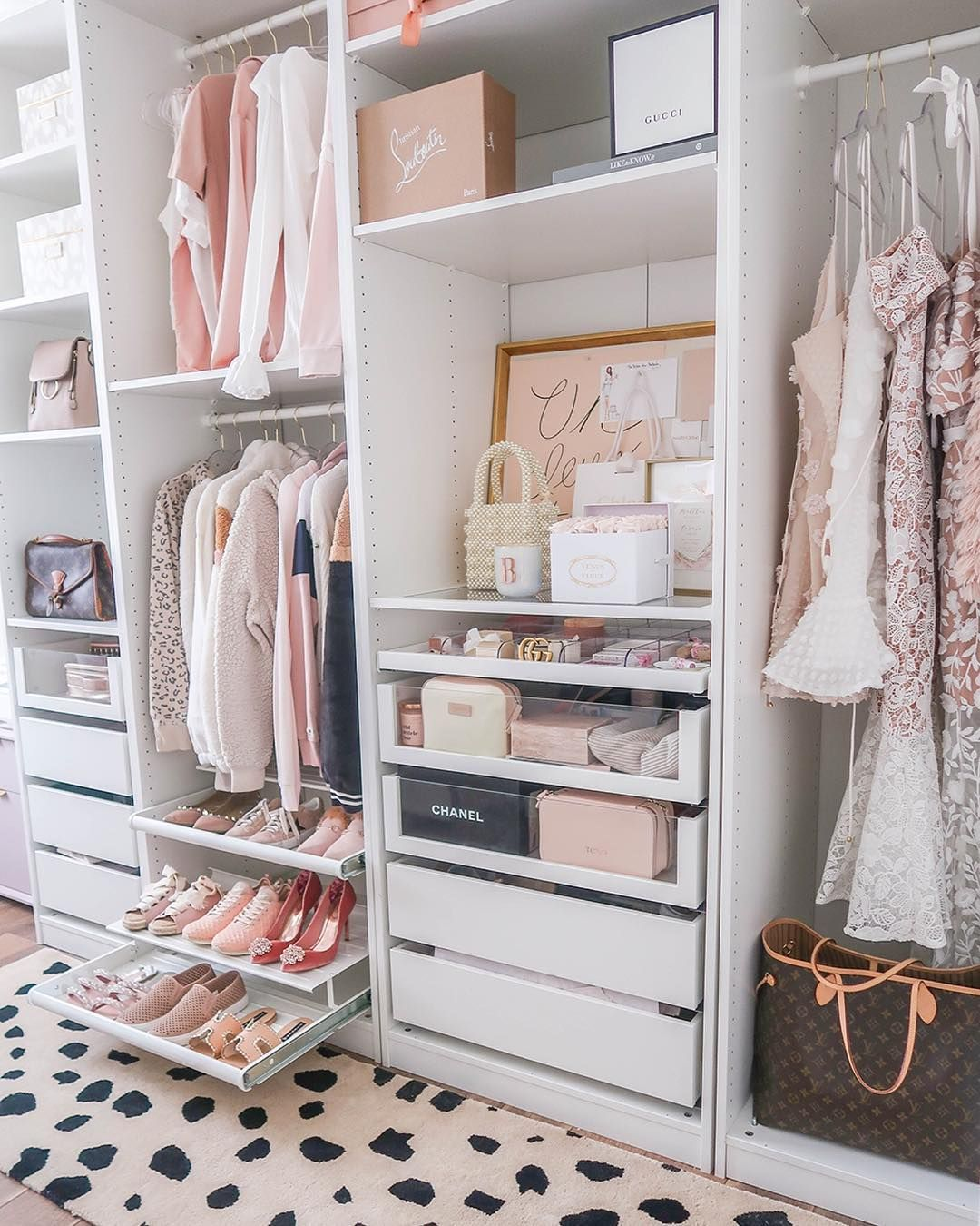 This Ikea Purchase Is the Answer to All Your Small-Closet Problems #shoecloset