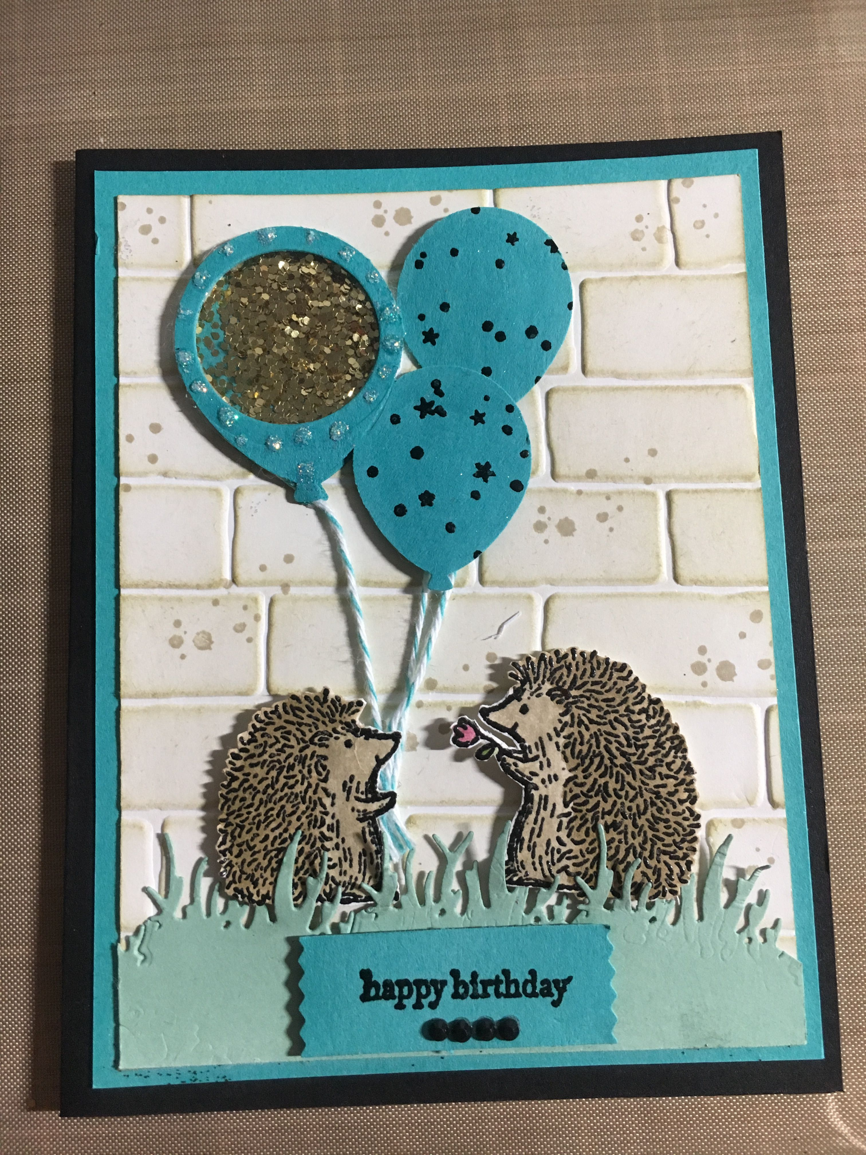 Stampin Up Love you Lots birthday card