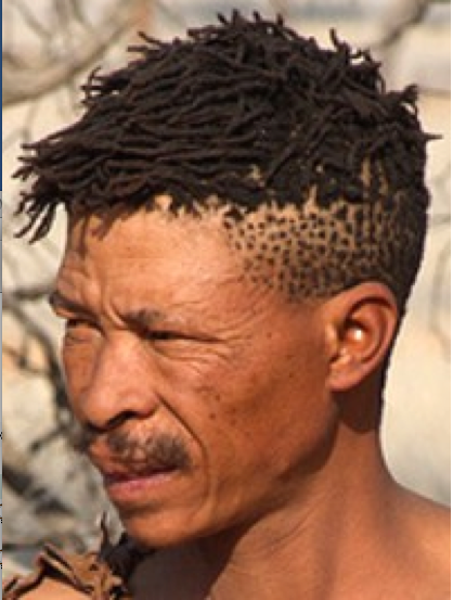 Peppercorn hair
