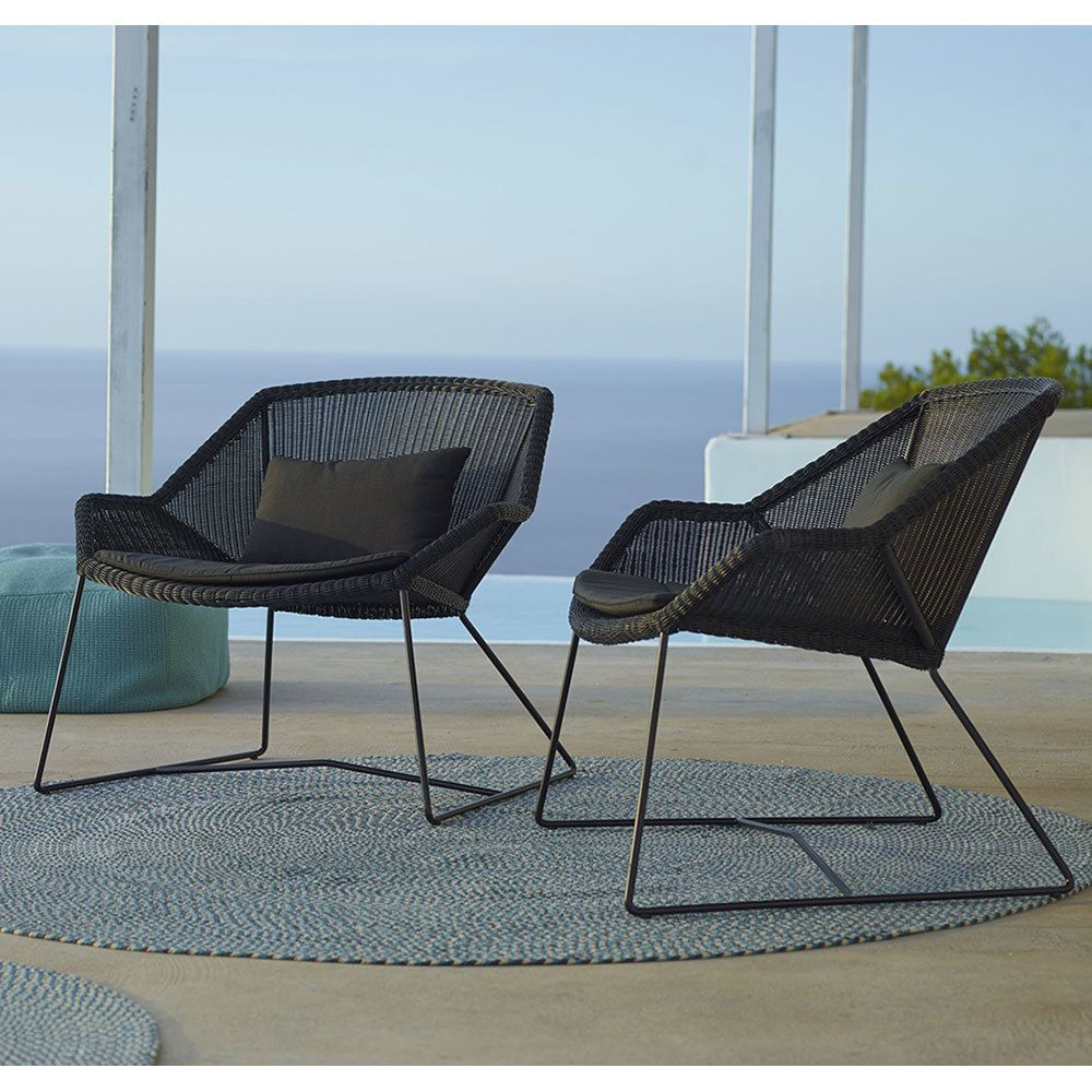 Cane Line Breeze Lounge Chair Outdoor Chairs Chair Lounge