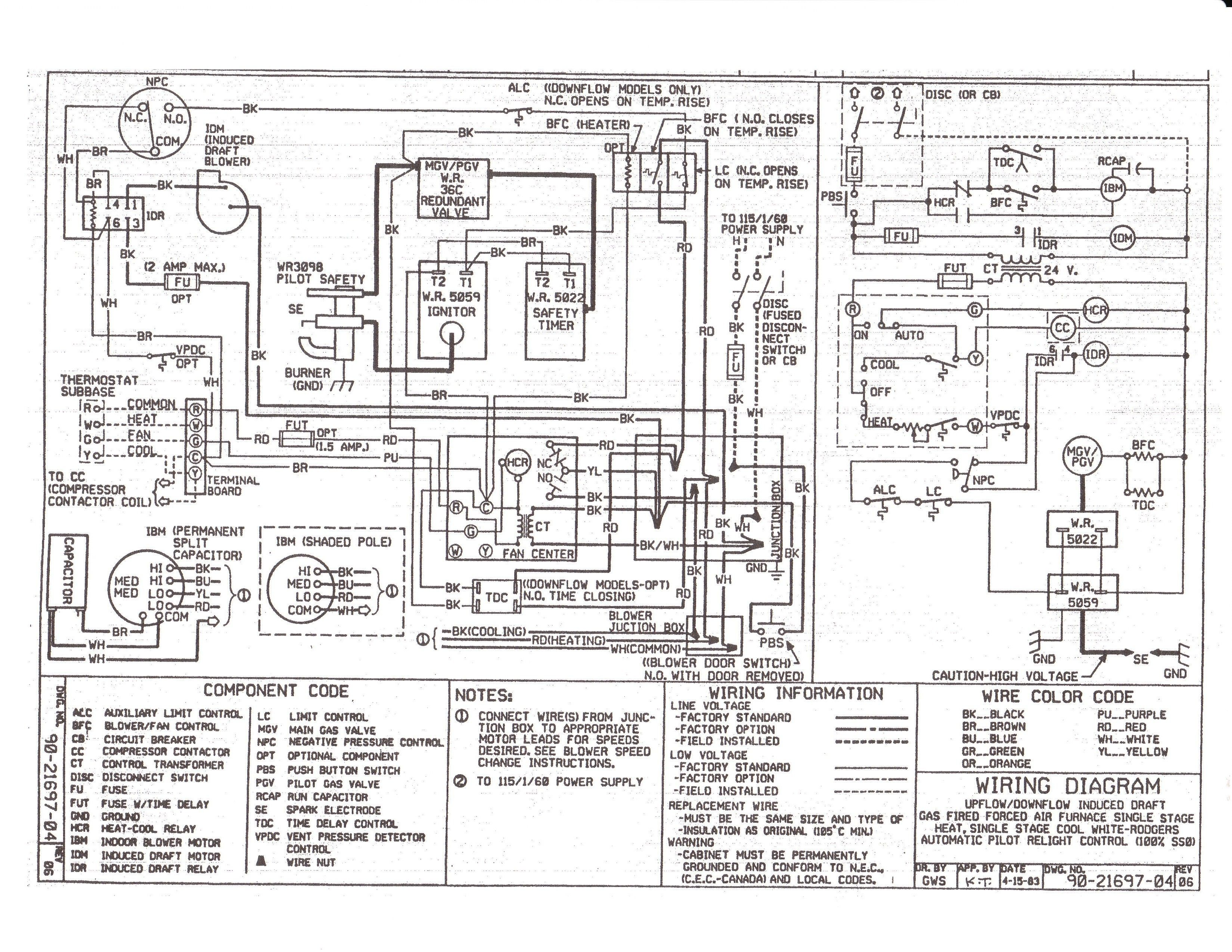 New Wiring Diagram For Intertherm Electric Furnace