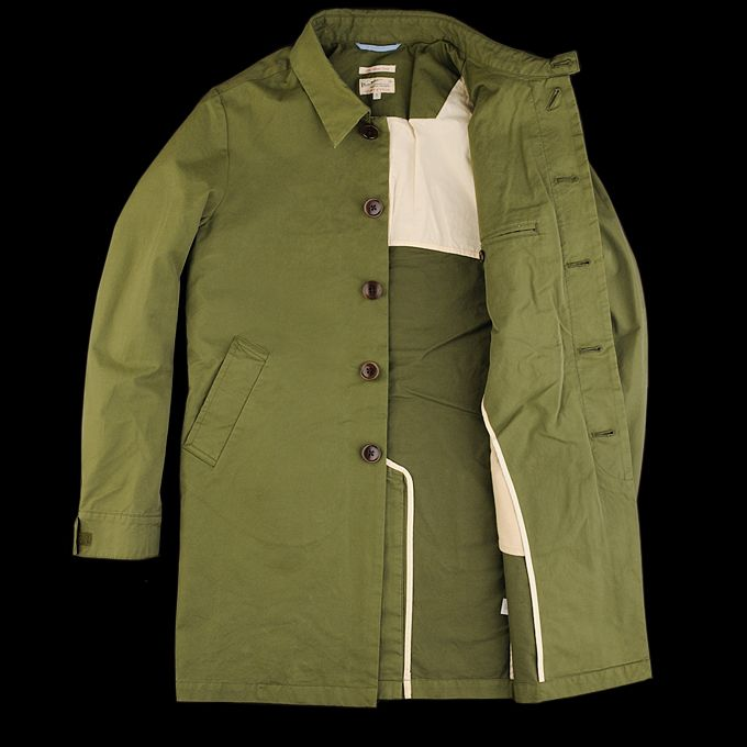 UNIONMADE - GANT Rugger - The Boat Coat in Deep Forest