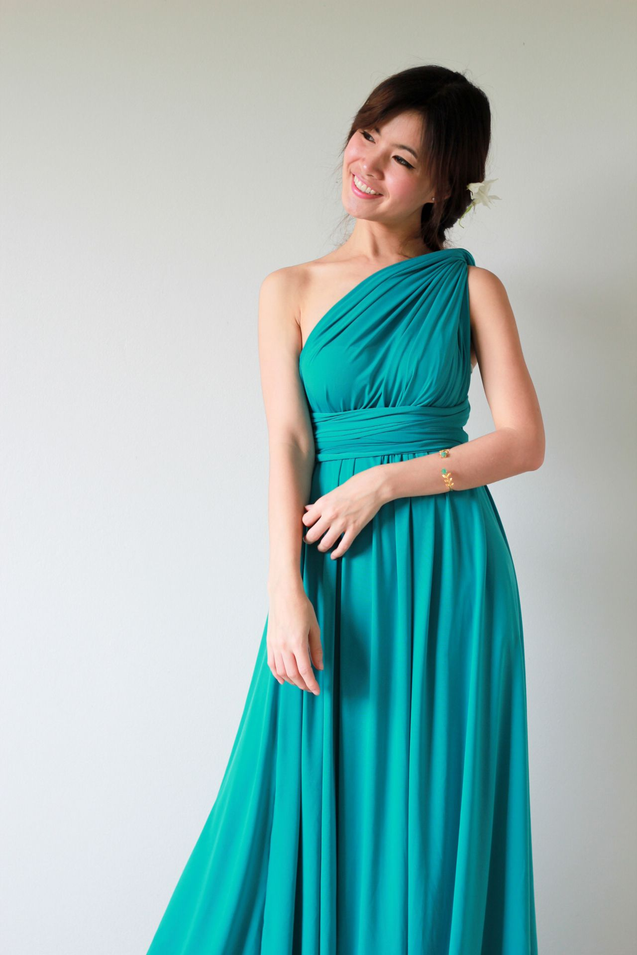 Turquoise Infinity Dress