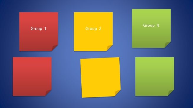 post it template powerpoint pptx sample powerpoint presentation