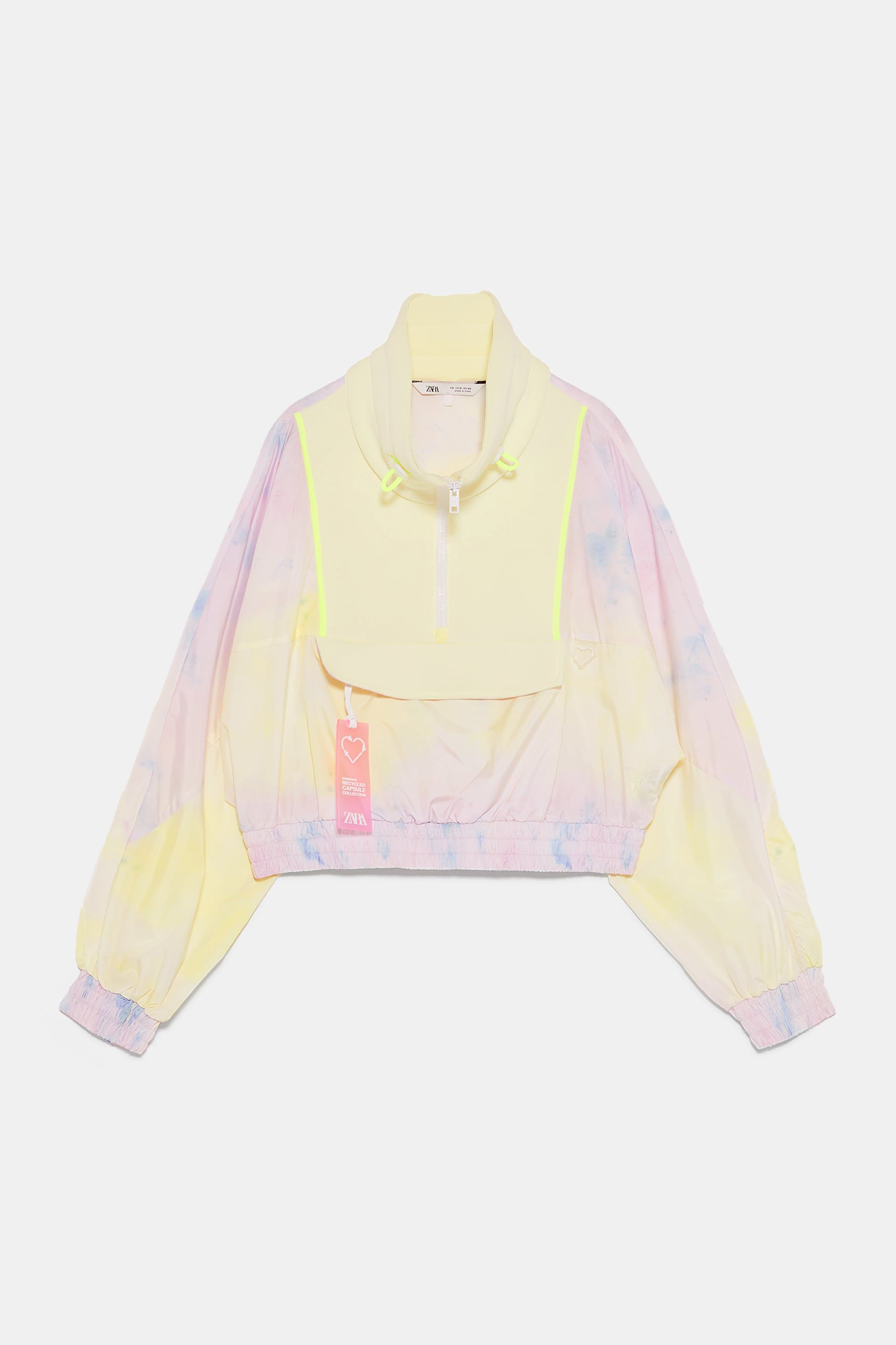 a896d68a9107 RECYCLED CAPSULE COLLECTION TIE DYE RAINCOAT - CO-ORD SETS-WOMAN | ZARA  United States