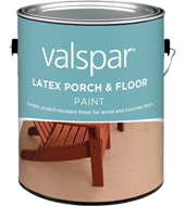 Valspar latex porch  floor paint non glare low sheen gives floors tough long lasting protection durable and weather resistant also rh pinterest