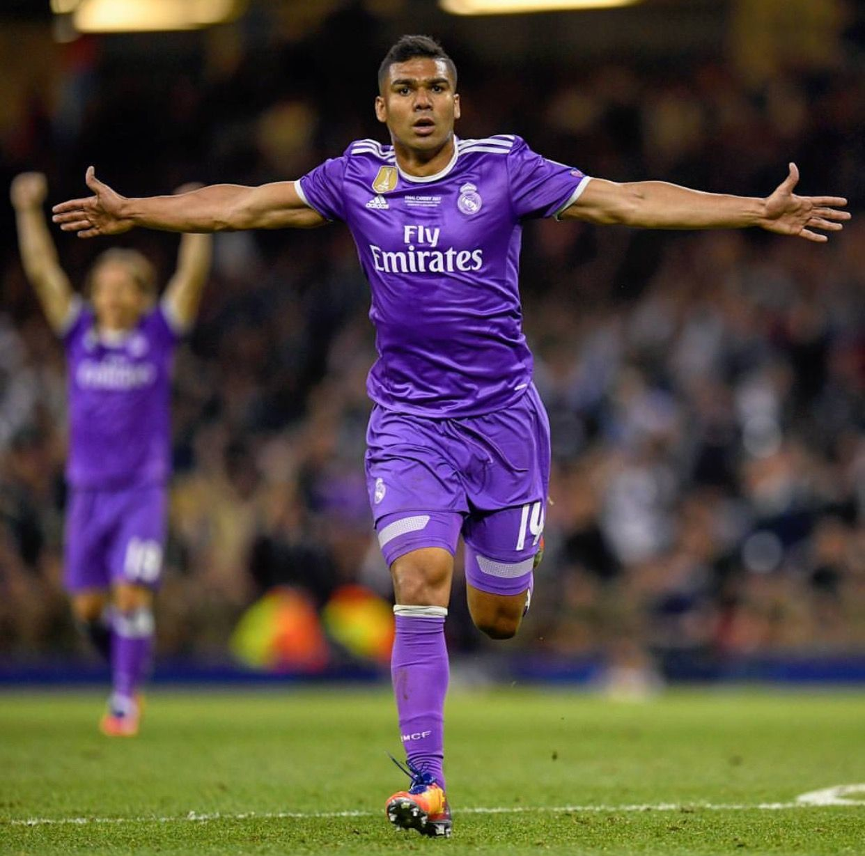 UCL 2017 Casemiro 2 1 Real Madrid Pinterest