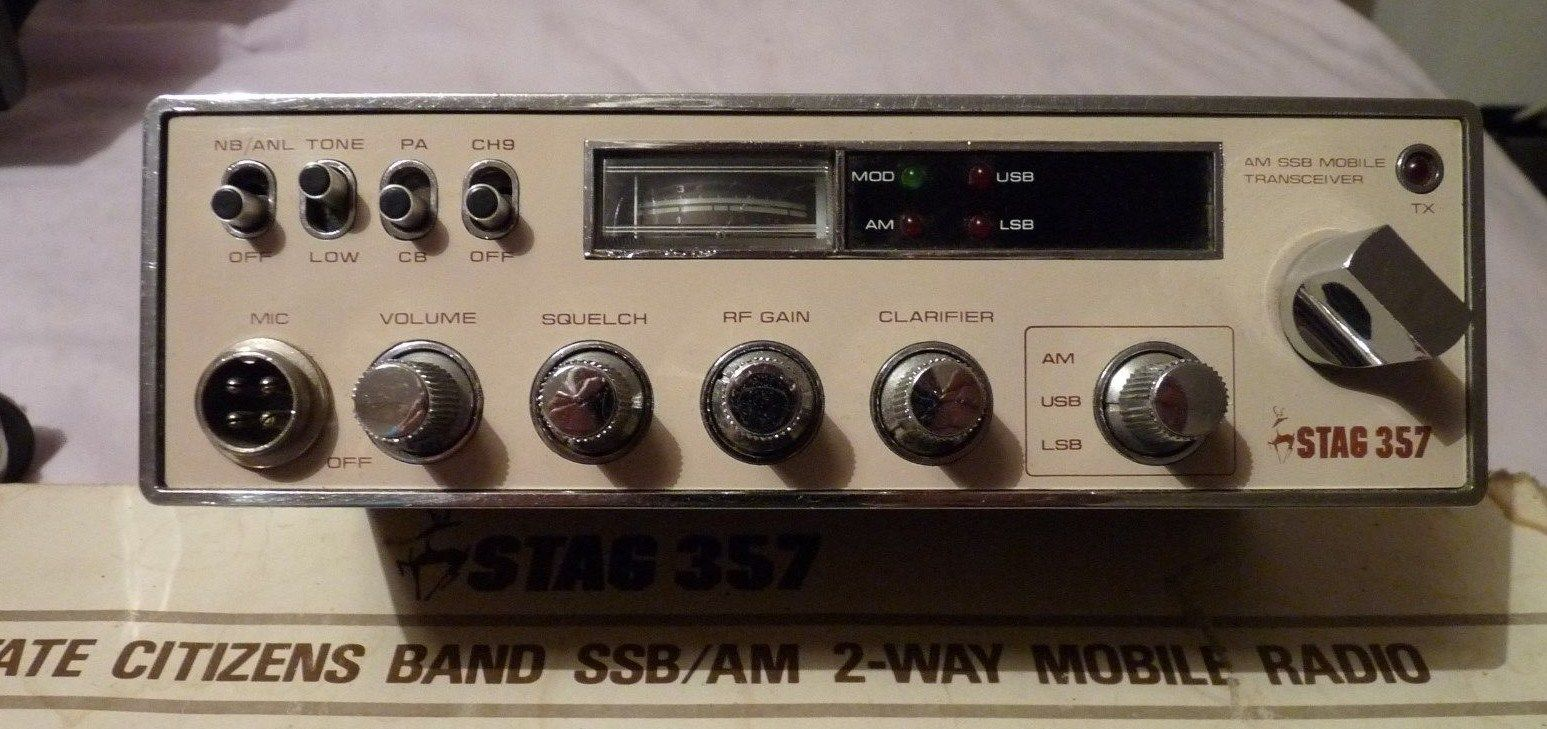 Stag 357 | Cb radio, Ham radio, Car radio
