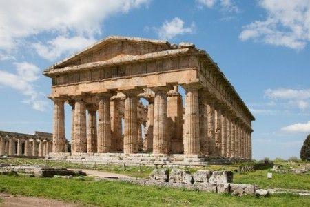 Templo De Hera En Olimpia Edificio In Antis Periptero Hexástilo Grecia Antigua Grecia Atenas
