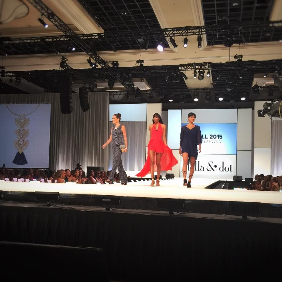 Strutting the Fall 2015 Collection! (Do you spy the Aida Tassel Necklace in the background?)