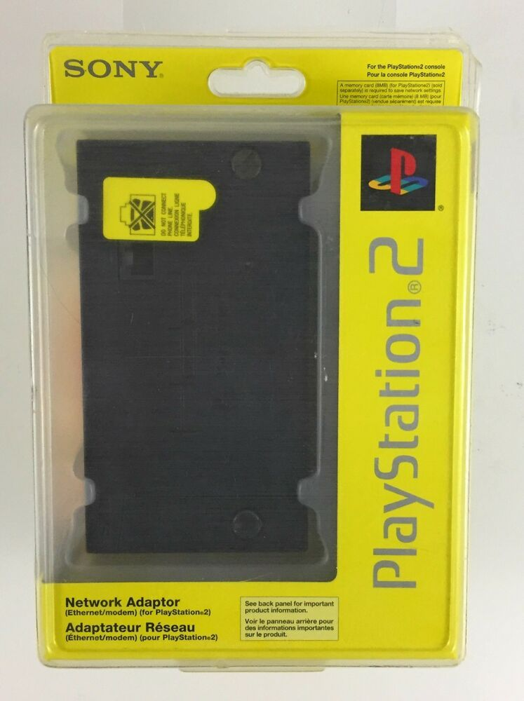 Sony Network Adaptor For Playstation 2 Scph 10281 97043 New Sony Playstation Networking Playstation 2