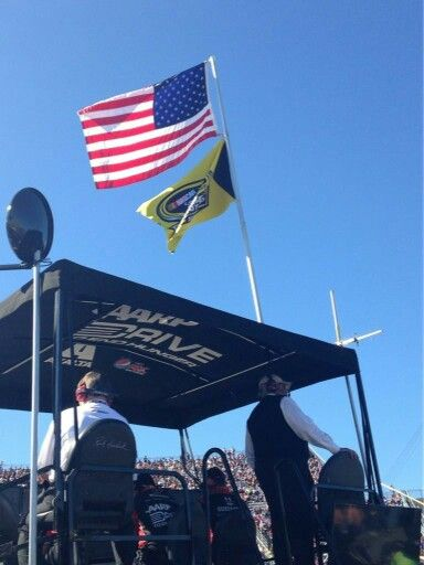 Mr Hendrick on top of the #24 box