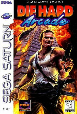 Die Hard Arcade For Sega Saturn Sega Saturn Juegos Retro