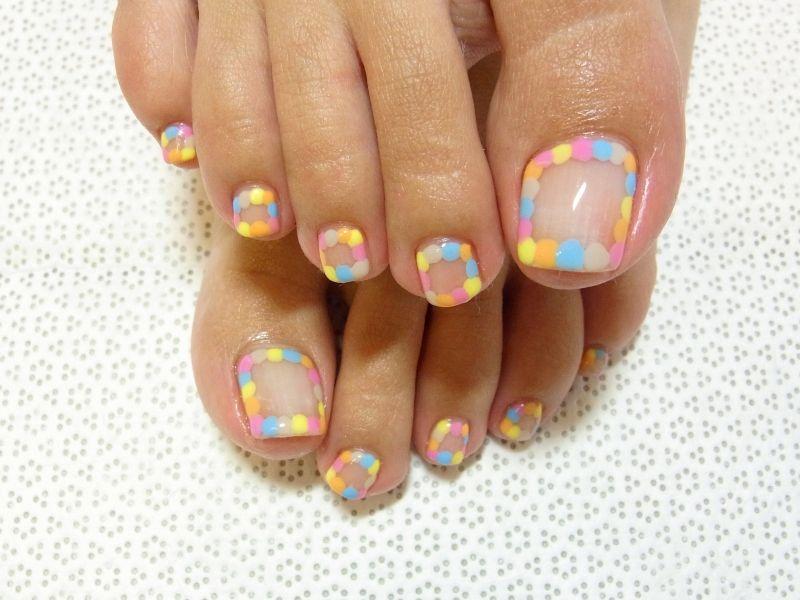 toenail design ideas relatively easy Your pedicure   mani-pedi ...