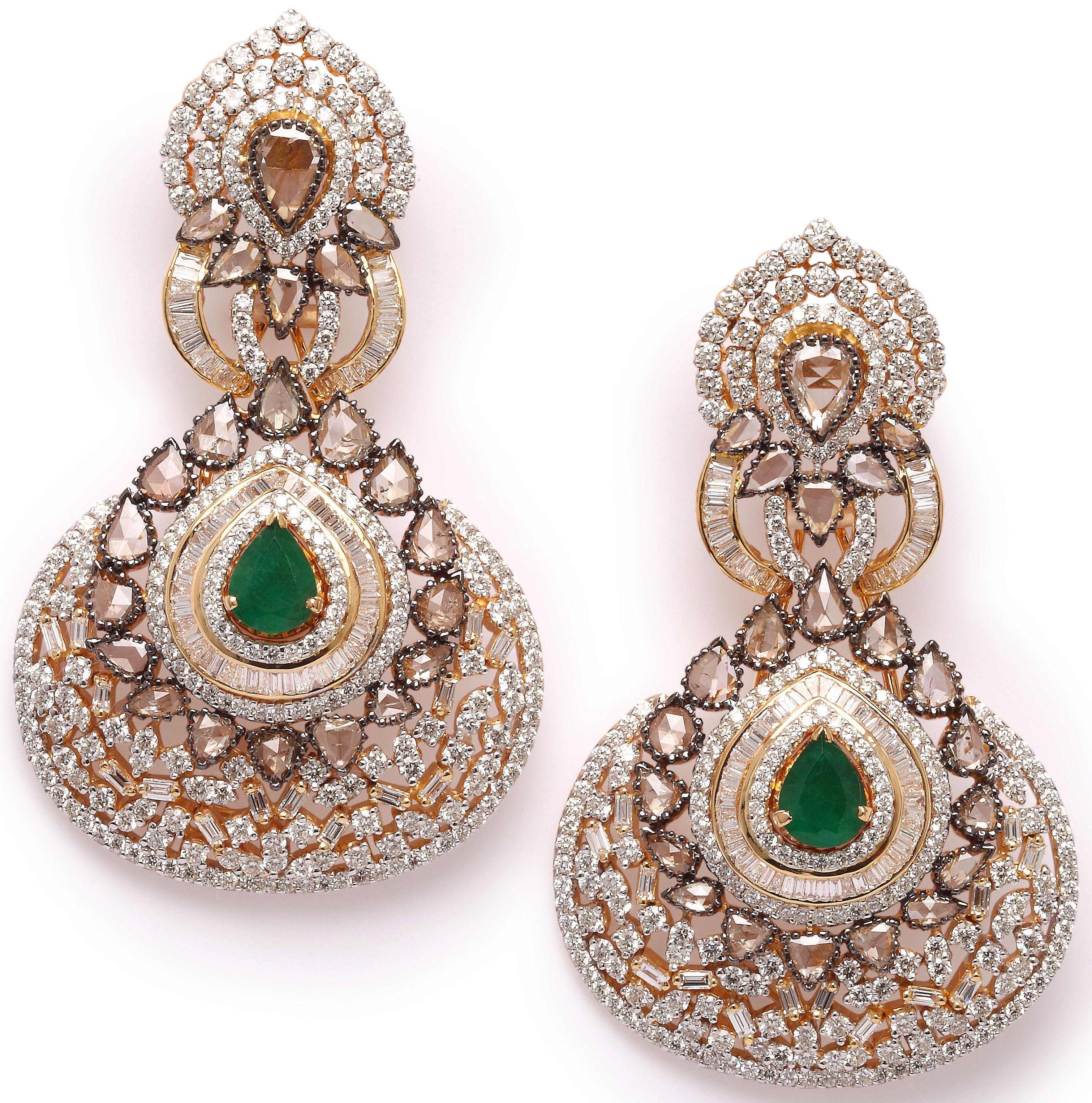 Beautiful earrings. #JetGems #beautiful #elegant #exquisite #style ...