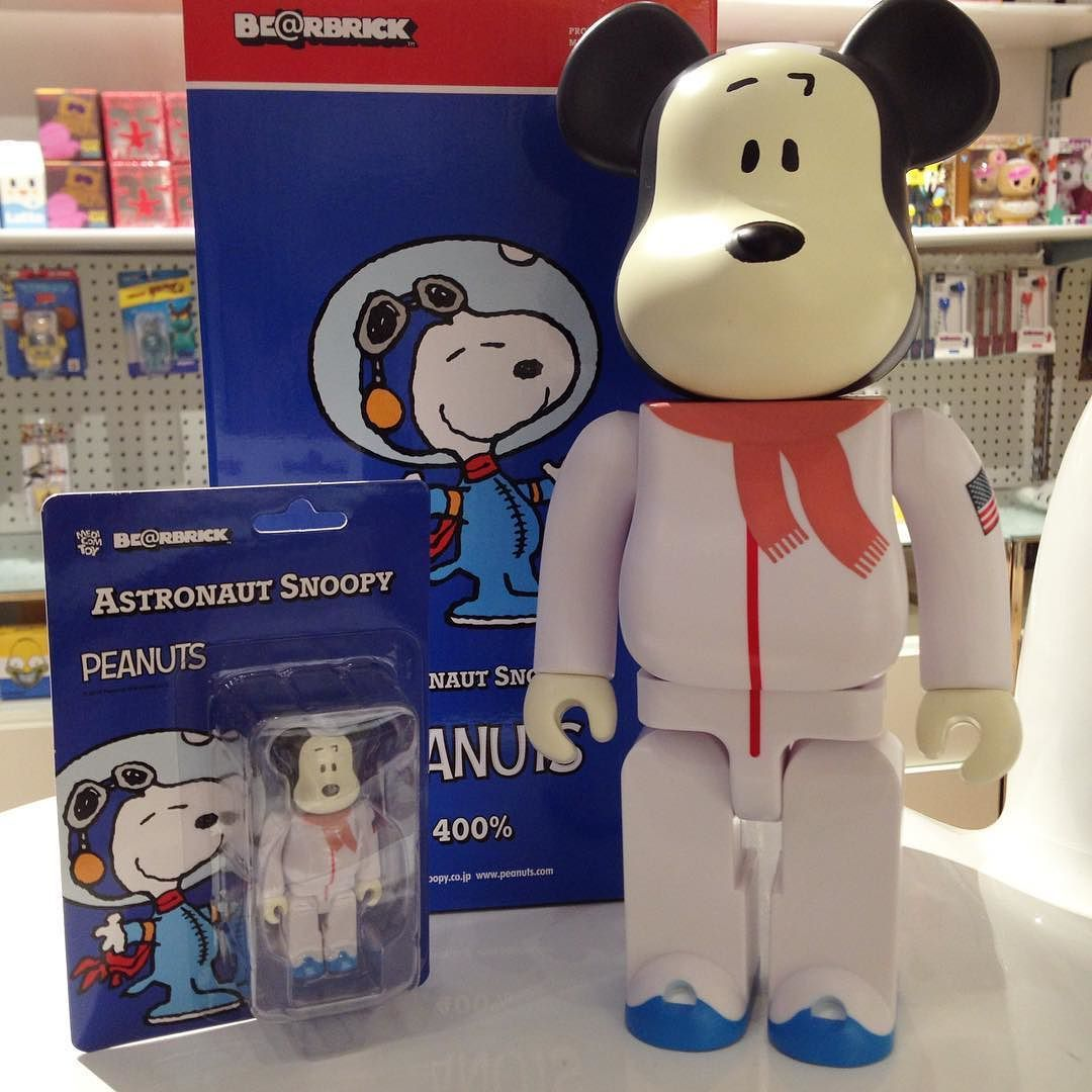 df115e8a New Arrival: Astronaut Snoopy 100% 400% and 1000% Bearbrick is available  now at Mindzai.com #bearbrick #snoopy #astronautsnoopy #peanuts  #designertoy ...
