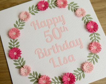 Items Similar To Paper Quilling Birthday Card Quilled Handmade Greeting On Etsy