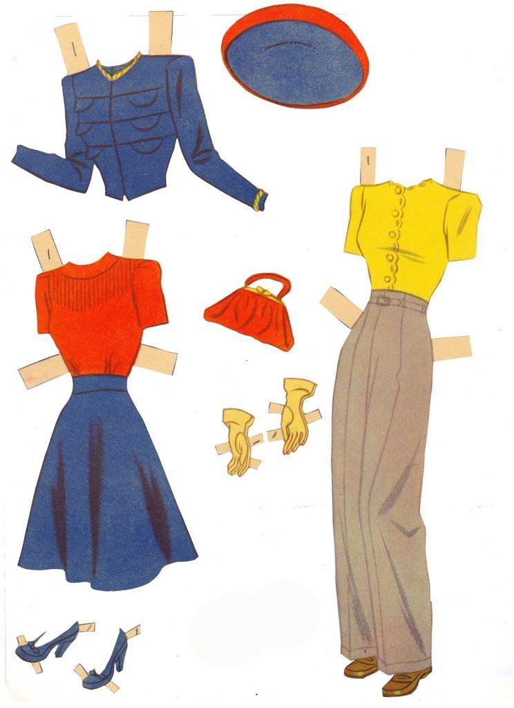 Judy Garland 1941 Judy Garland Paper Dolls ...........•❤° Nims °❤•