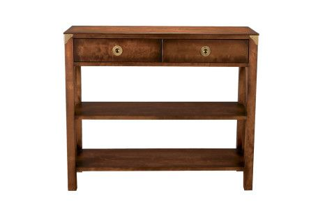 Balmoral Chestnut Console Table