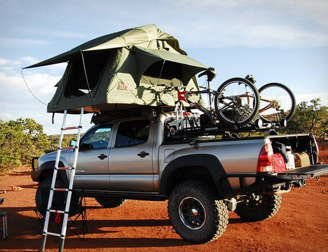 I I Love How Cool This Pick Up Truck Looks With This Tepui Roof Top Tent Roof Top Tent Truck Tent Top Tents