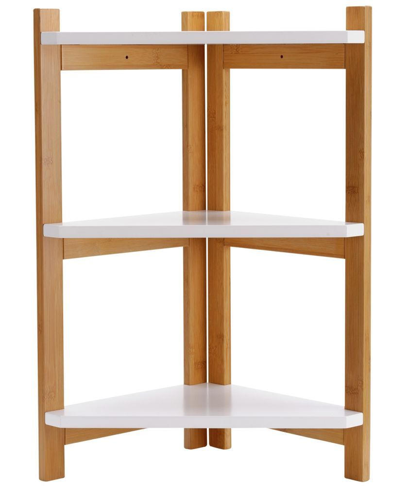 Buy 3 Tier Two Tone Corner Shelf Unit at Argos.co.uk - Your Online ...