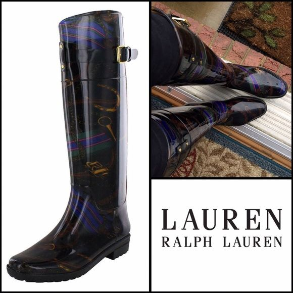 Ralph Lauren Rossalyn II rain boots