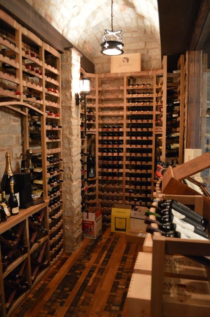 Residential Wine Cellar Builders Project In Bonita Springs Naples Florida 2 Hours West Of Miami Very Custom Designs Like This Cellars Are