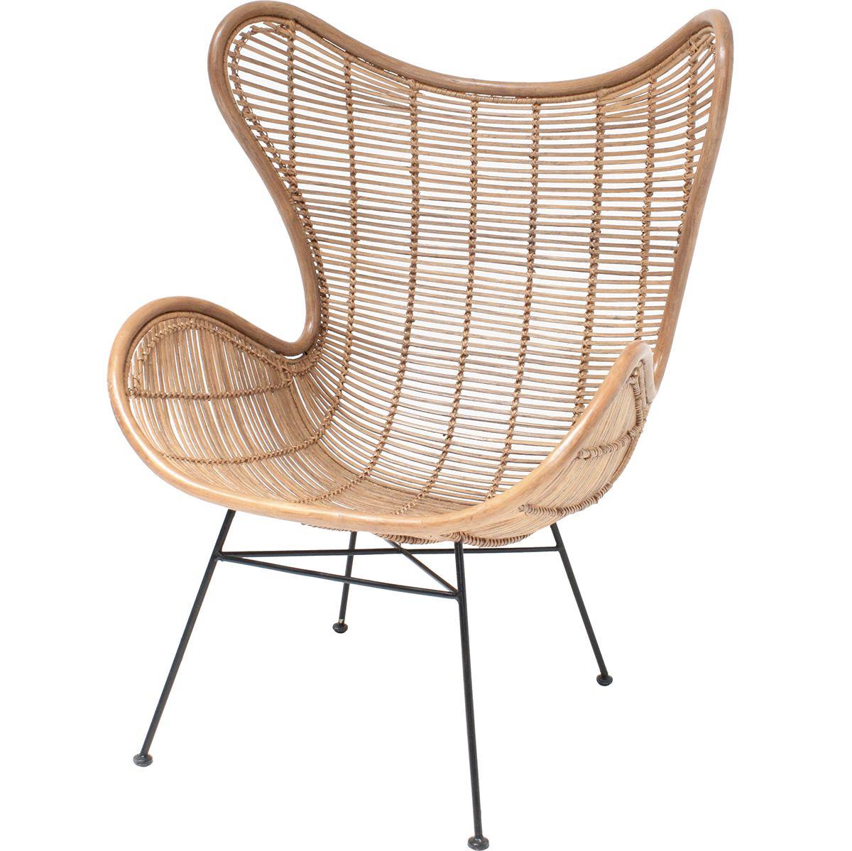HK Living Egg Rattan Lounge Chair | Lounge Chair | Pinterest