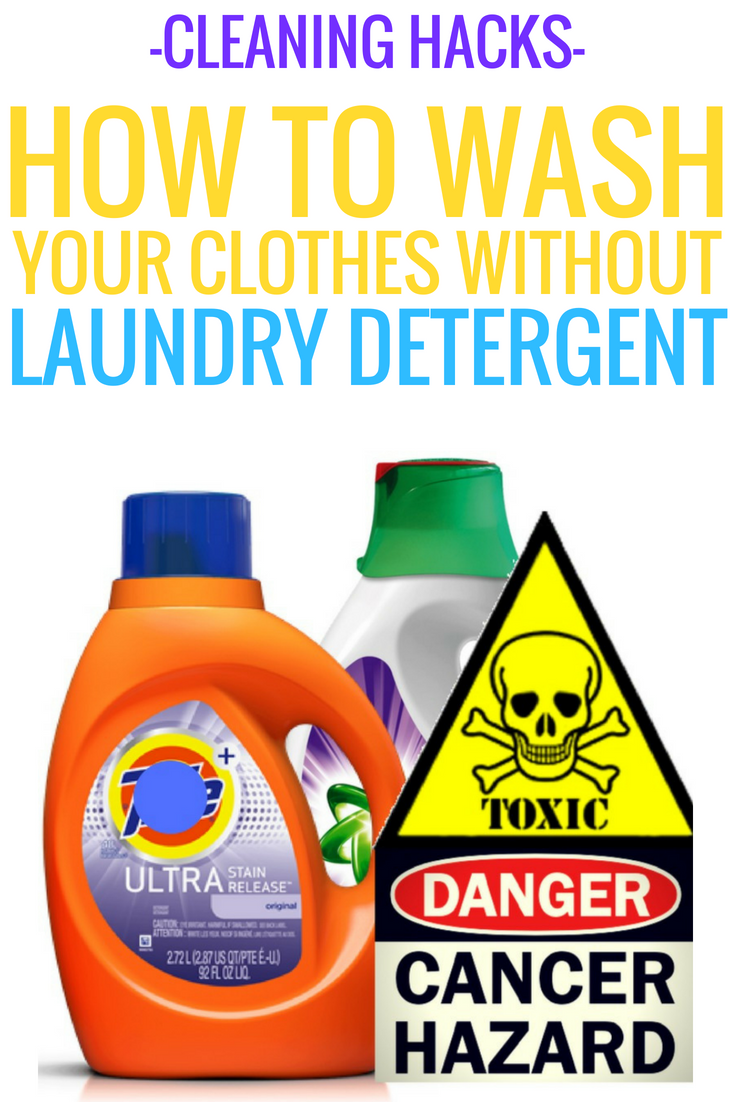 Cleaning Hacks How To Wash Your Clothes Without Laundry