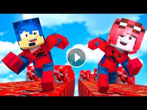 Minecraft Ita La Corsa Dei Luckyblock Di Spider Man