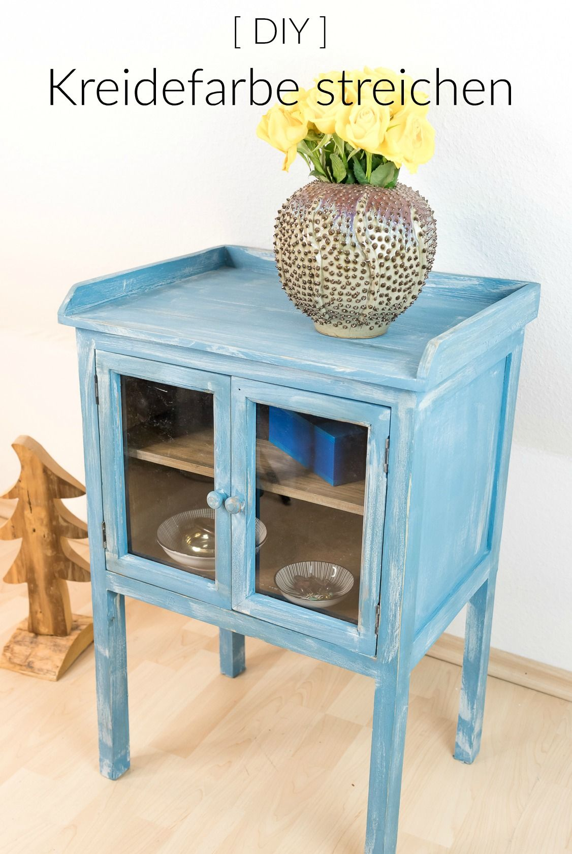 m bel mit kreidefarbe streichen so geht das anleitung kreidefarbe. Black Bedroom Furniture Sets. Home Design Ideas