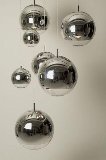 Tom Dixon Mirror Ball Suspension Lamp