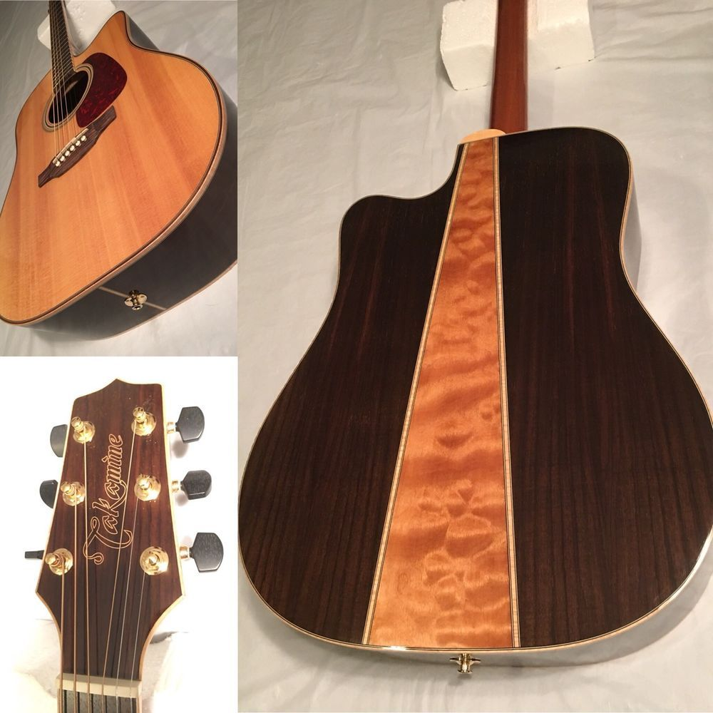 Takamine Gd93cenat Solid Top Acoustic Electric Guitar Rosewood